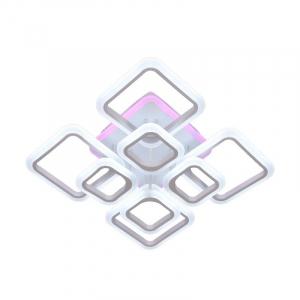 Lustra LED NEW Square Design, SLC, Patrata 8 cu Telecomanda [0]