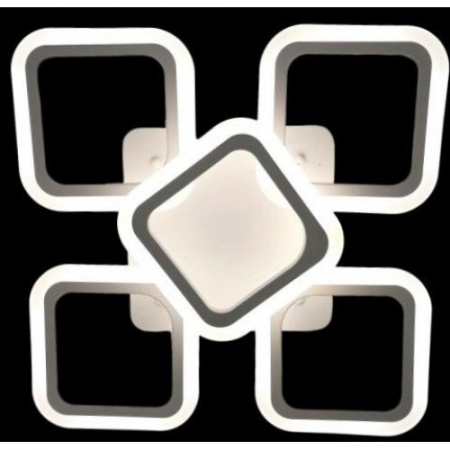 Lustra LED SLC Square Design Acril Exterior [2]