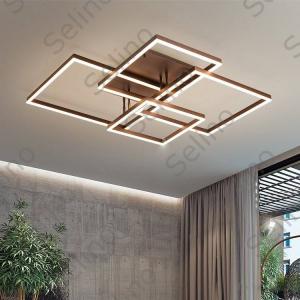 Lustra LED Square Numva 2+2 cu Telecomanda [3]