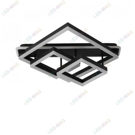 Lustra LED Numva Square black cu Telecomanda [4]