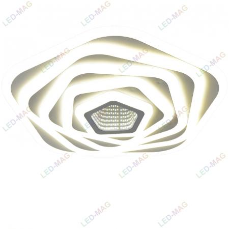 Lustra led Pentagon 3D Design [1]