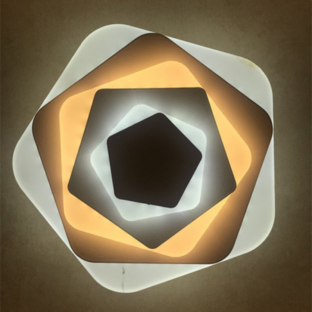Aplica led slim 44W pentagon [1]