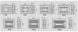 Proiector LED FSL 100W IP65 [3]