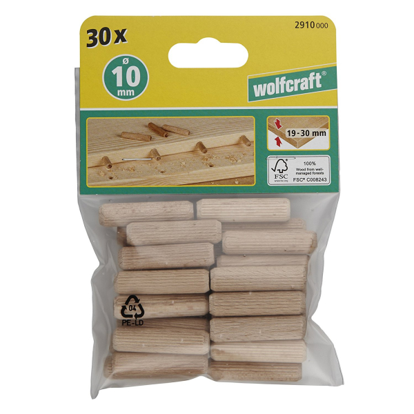 SET 30 DIBLURI 10 X 40 WOLFCRAFT 2910000 0