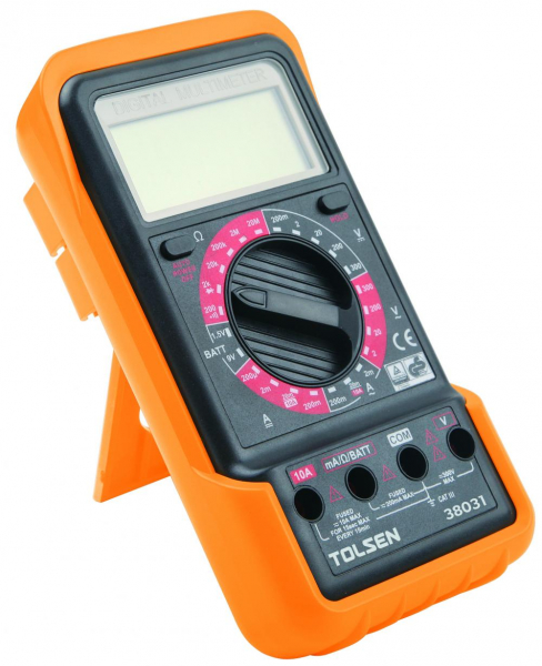 Multimetru digital lcd Tolsen 38031 0