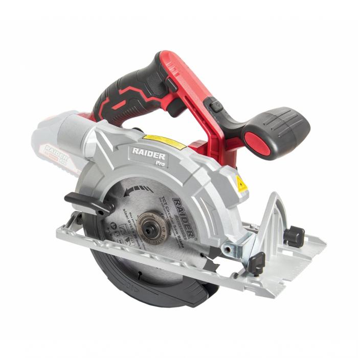 R20 Fierastrau circular manual 20V Ø165x20mm 24T 4200min-1 laser RDP-SCS20 Solo [0]