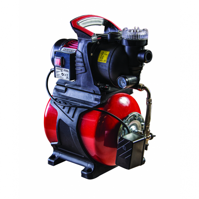 "Hidrofor cu rezervor 800W 1""max 53 L/min 3bar 40m cu filtru RDP-WP800SW [0]"