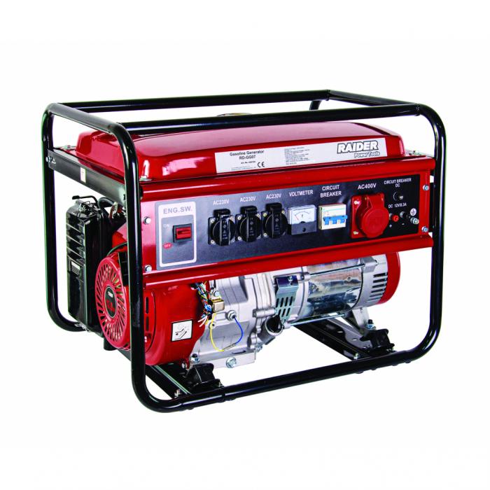 Generator benzina 5kW 230V & 380V RD-GG07 [0]