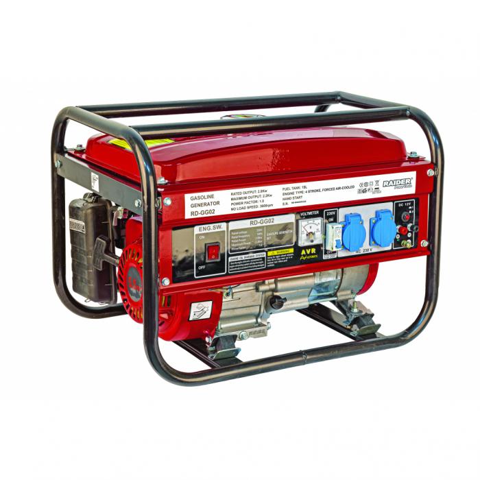 Generator benzina 2kW RD-GG02 0
