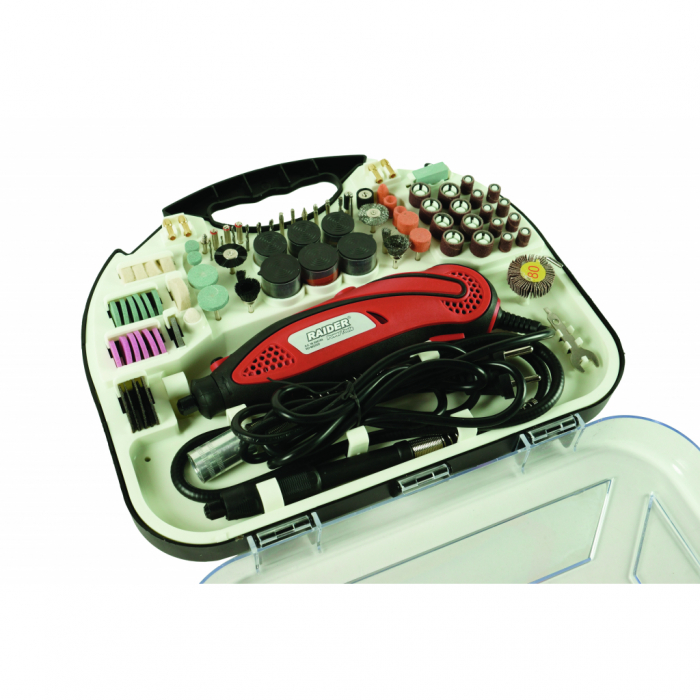 Mini polizor drept set cablu & acces. 135W RD-MG06 [1]