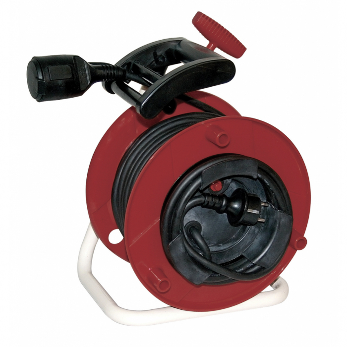 Prelungitor derulator tambur 20m 3x1.5mm2 rezistent la apa RD [1]