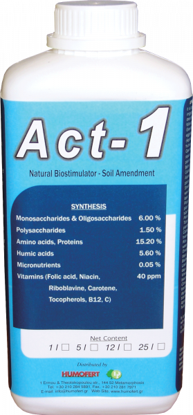 Biostimulator natural  ACT 1 0