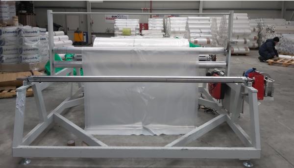 Folie solar aditivată 2501 P.K. 150µ - durată de viață de pâna la 5 ani 0