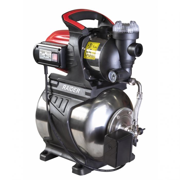 """Hidrofor cu rezervor inox 1200W x 1"""" 64 l/min 48 m RD-WP1200S [0]"""