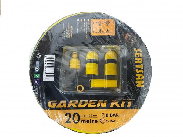 Kit furtun pentru grădină 12.5mm (1/2'') x 20m 0