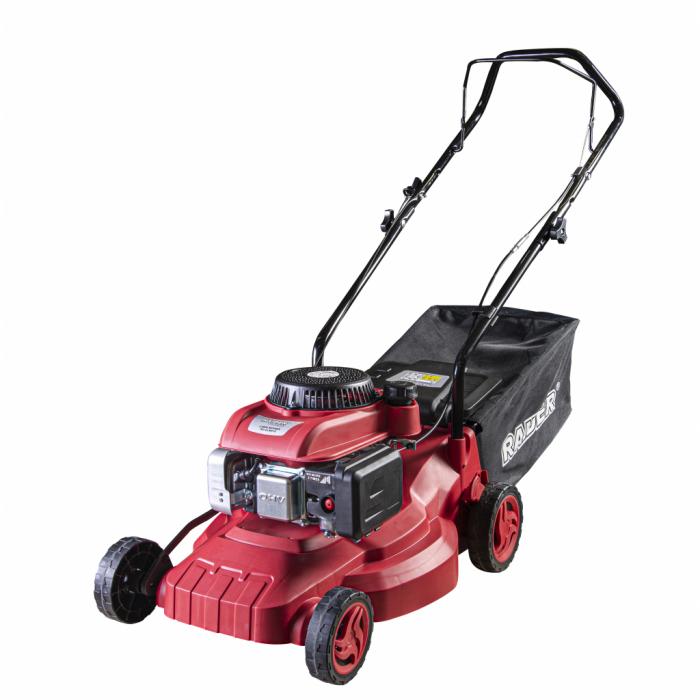 Masina tuns iarba pe benzina 2000 W 400mm 127cc 40L RD-GLM01S [0]