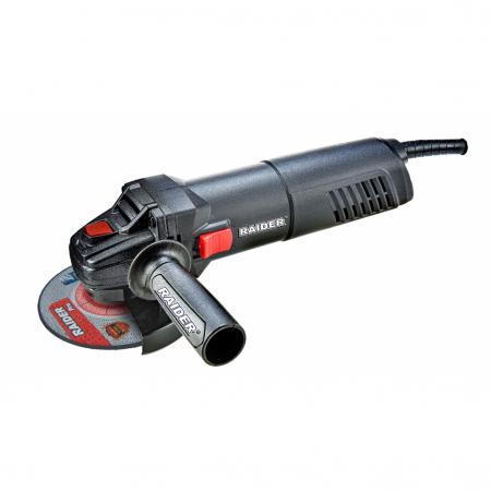 Polizor unghiular 125mm  910W viteza variabila RDP-AG43 Black edition0