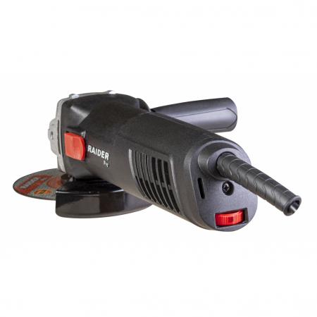 Polizor unghiular 125mm  910W viteza variabila RDP-AG43 Black edition1
