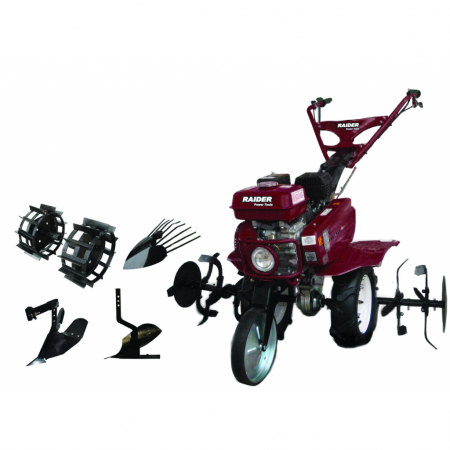 Motocultor 7 CP, 2+1 viteze kit cu accesorii incluse RD-T03 [1]