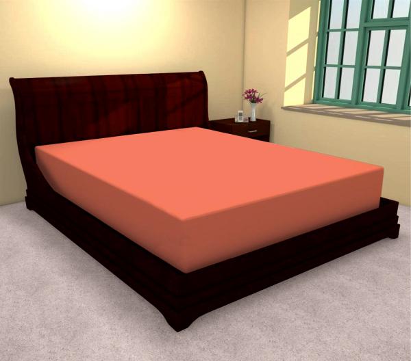 Huse de pat bumbac 100% portocaliu 180 X 200 0