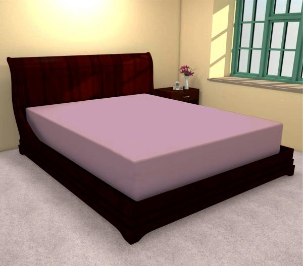 Huse de pat bumbac 100% roz 180 X 200