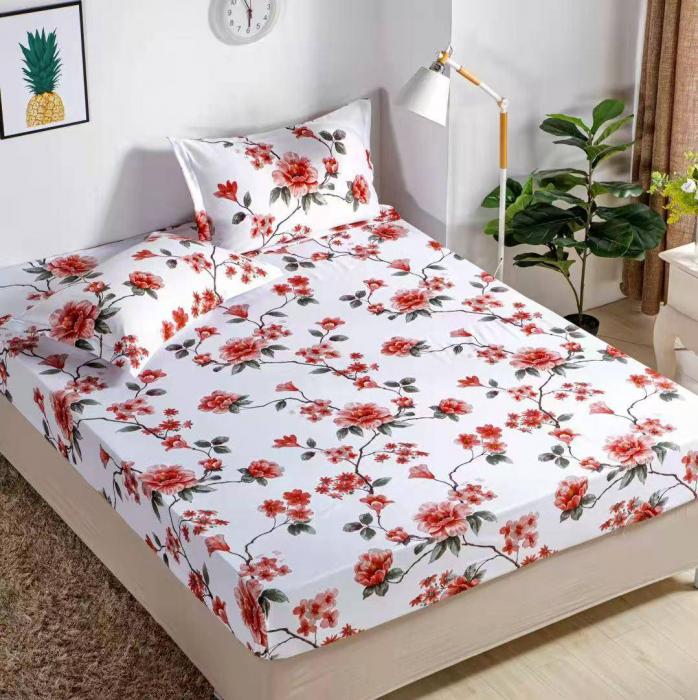 Husa de pat din Finet cu elastic+ 2 fete de perna-HF30 [0]