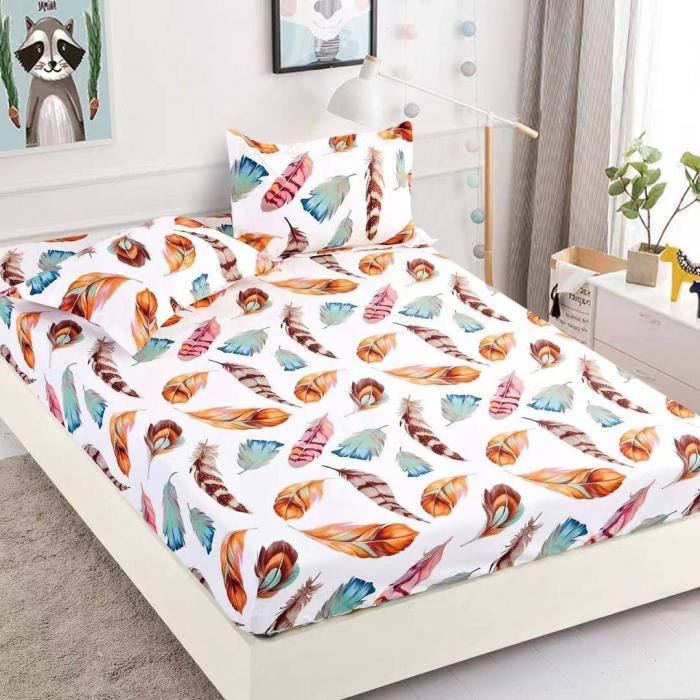 Husa de pat din Finet cu elastic+ 2 fete de perna-HF40 [0]