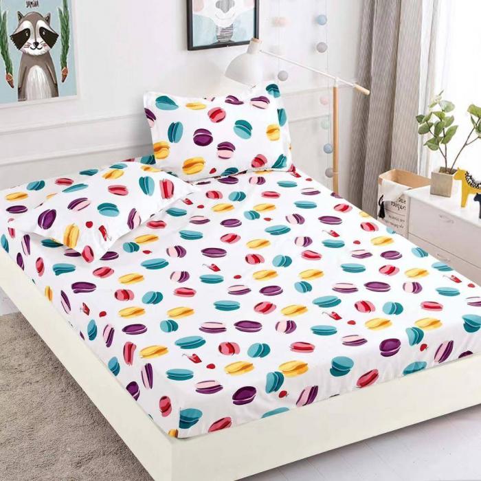 Husa de pat din Finet cu elastic+ 2 fete de perna-HF45 [1]