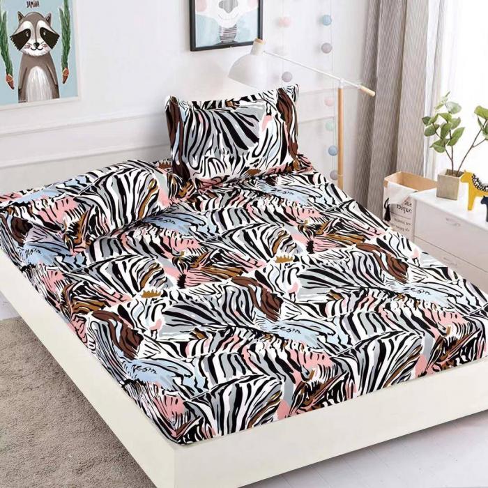 Husa de pat din Finet cu elastic+ 2 fete de perna-HF47 [0]