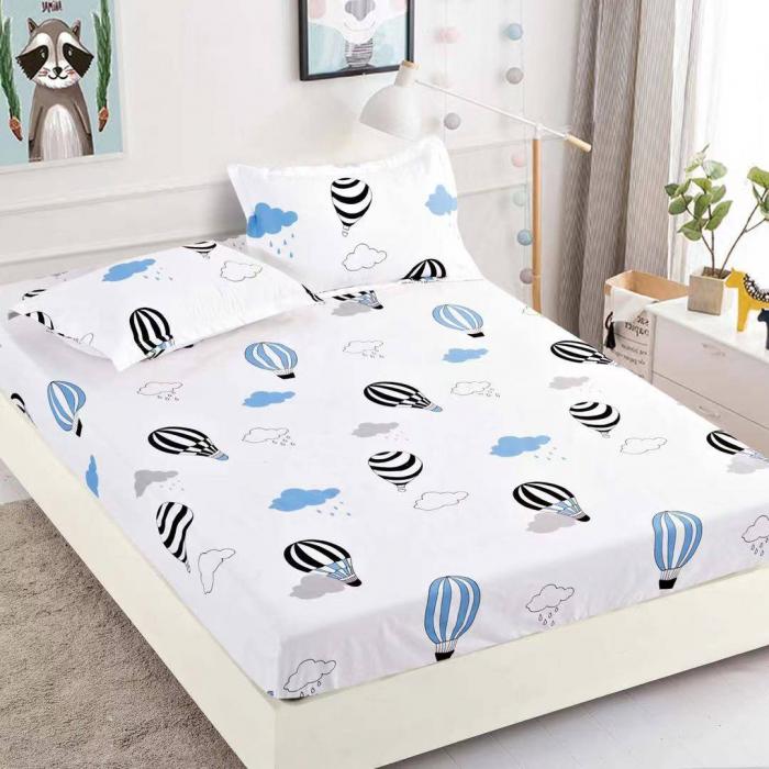 Husa de pat din Finet cu elastic+ 2 fete de perna-HF54 [0]