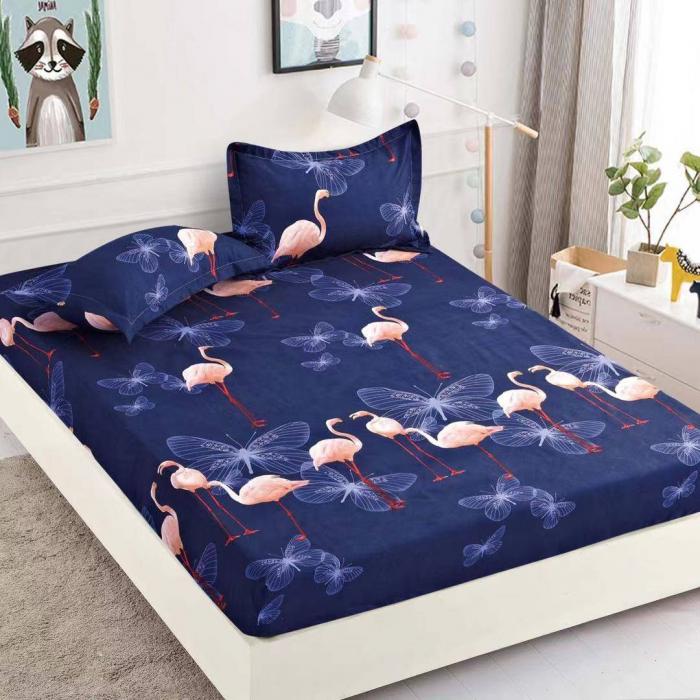 Husa de pat din Finet cu elastic+ 2 fete de perna-HF56 [0]