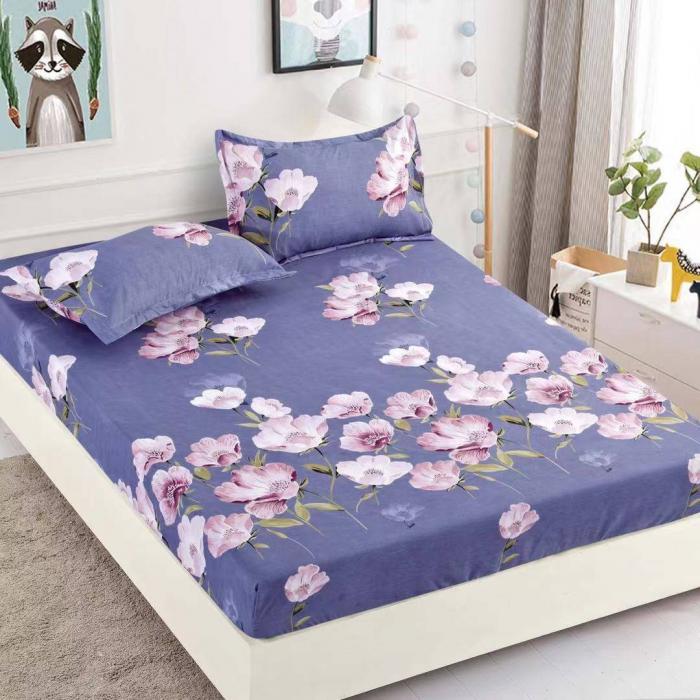 Husa de pat din Finet cu elastic+ 2 fete de perna-HF62 [0]