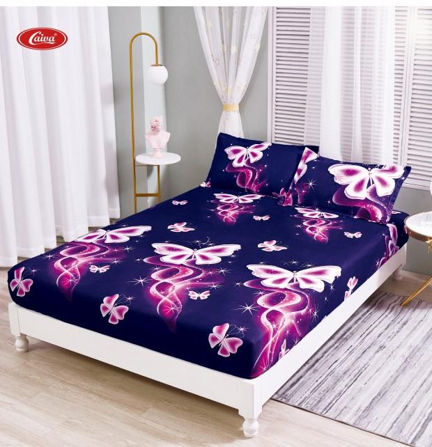 Husa de pat din Finet cu elastic+ 2 fete de perna-HF64 [0]