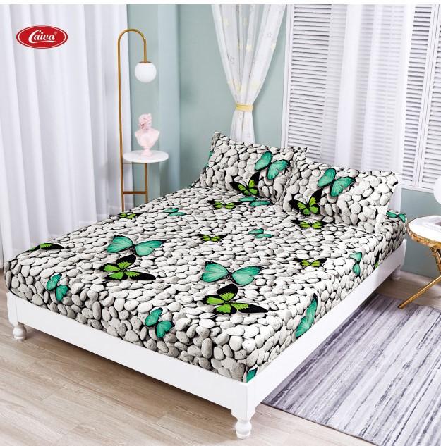 Husa de pat din Finet cu elastic+ 2 fete de perna-HF65 [0]