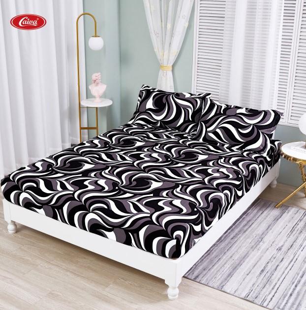 Husa de pat din Finet cu elastic+ 2 fete de perna-HF66 [0]