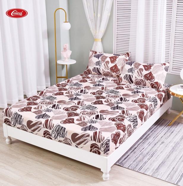 Husa de pat din Finet cu elastic+ 2 fete de perna-HF69 [0]