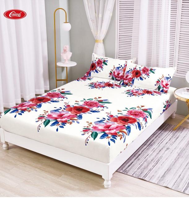 Husa de pat din Finet cu elastic+ 2 fete de perna-HF70 [0]