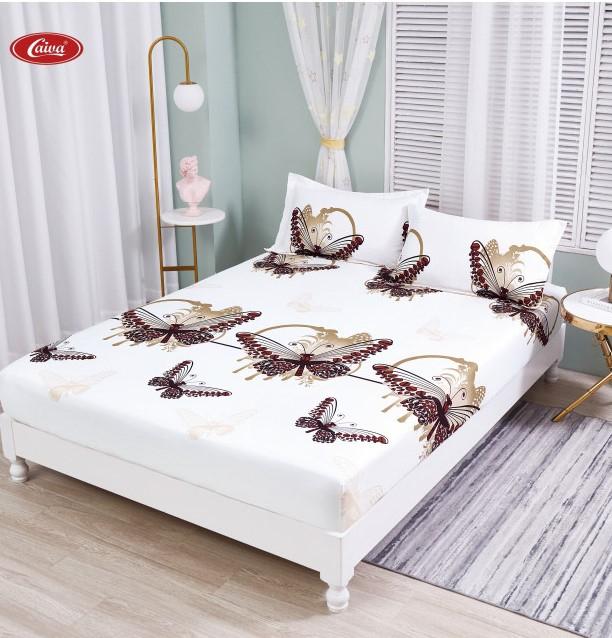 Husa de pat din Finet cu elastic+ 2 fete de perna-HF73 [0]
