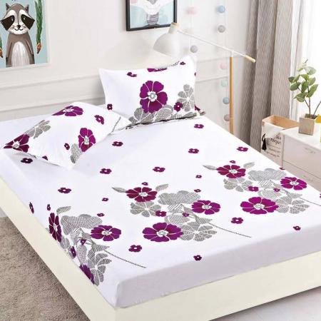 Husa de pat din Finet cu elastic+ 2 fete de perna-HF29 [0]