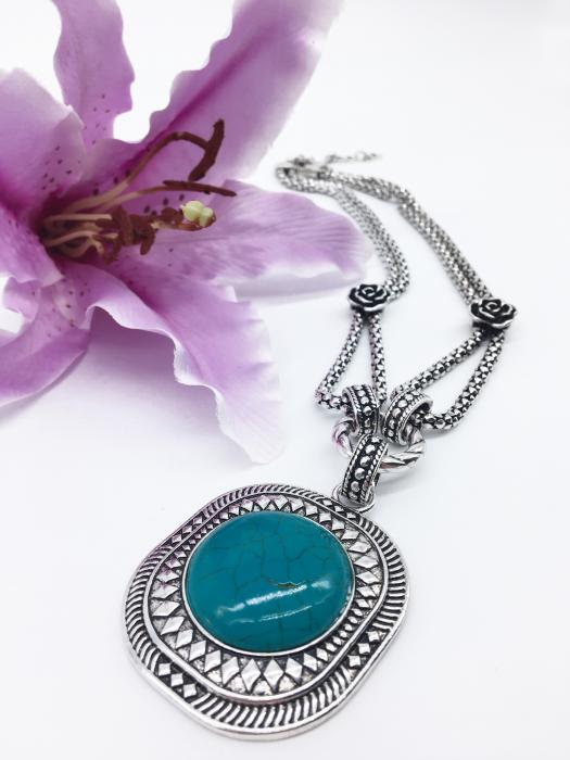 """Colier """"Turquoise spell"""" 0"""