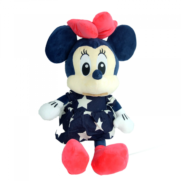 Simpatica Minnie in rochita de blug, 56 cm 1