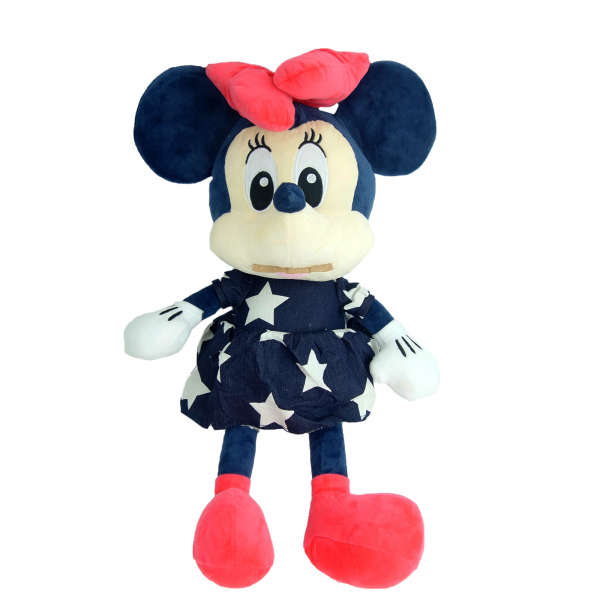 Simpatica Minnie in rochita de blug, 56 cm 0