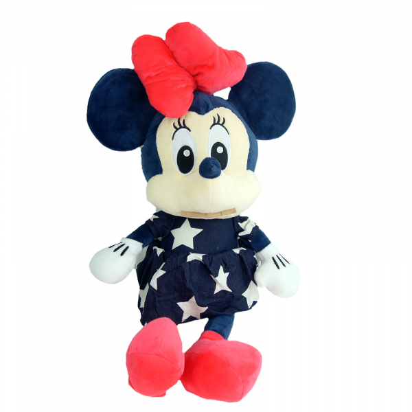 Simpatica Minnie in rochita de blug, 56 cm 2