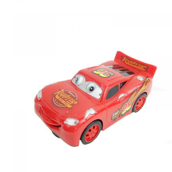 Masina Happy Car interactiva, isi misca ochii, 16 cm 2