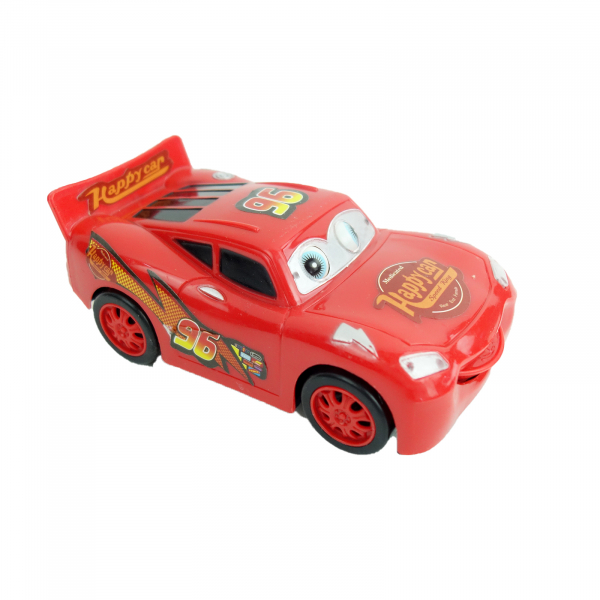 Masina Happy Car interactiva, isi misca ochii, 16 cm 0