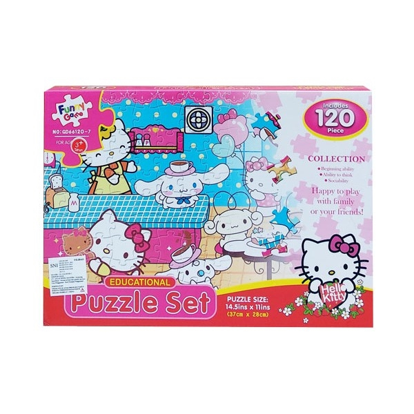Puzzle Hello Kitty, 120 piese 0