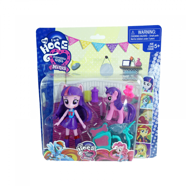 Figurina Ponei Equestria Girls, mini, 11 cm 1