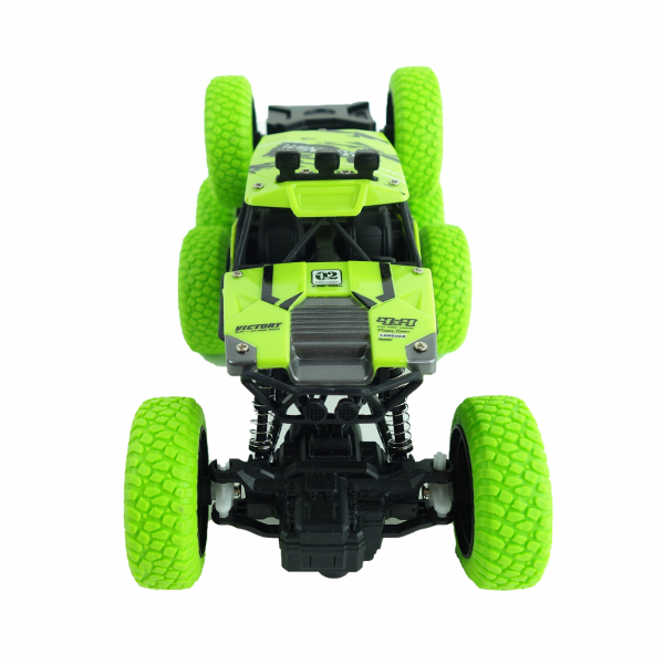 Monster Off-Road, 4x4, 8 roti de cauciuc, 27 cm, verde 6