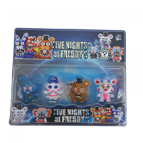 Set 4 figurine Five nights at Freddy's 0