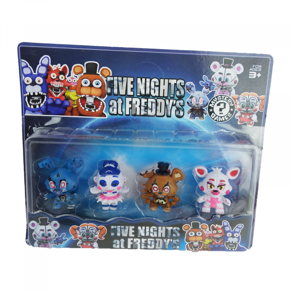 Set 4 figurine Five nights at Freddy's 2